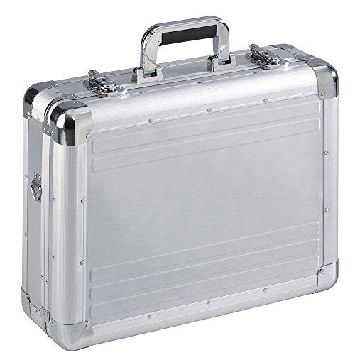 Maletin Maleta Attache de aluminio plateado para foto la camera con inserto de espuma 49025