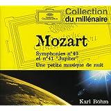 """Mozart : Symphonies n° 40 et n° Jupiter"""" - Une petite musique de nuit"""