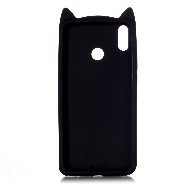premium selection c58da 15efa Amazon.com: Huawei Honor 8X Cases, Bunnyfan 2019 Cute 3D Cat Ear ...