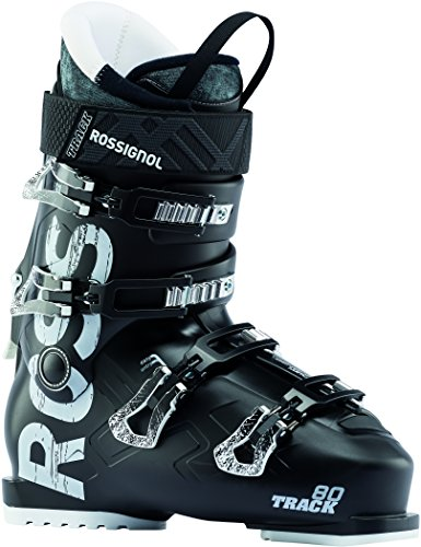 Rossignol Track 80 Ski Boots Black Mens Sz 9.5 (27.5) (Best Ski Boots For Wide Feet 2019)