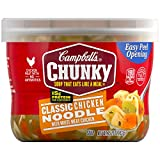 campbells chicken e - Campbell's Chunky Soup, Classic Chicken Noodle, 15.25 Ounce (Pack of 8) (Packaging May Vary)