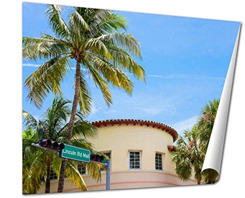 Ashley Giclee Fine Art Print, Miami Beach, 16x20, - Miami Downtown Mall