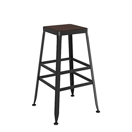 Incredible Amazon Com Black Retro Bar Stool Industrial Steel Design Ocoug Best Dining Table And Chair Ideas Images Ocougorg