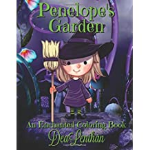 Penelope's Garden: A Bewitchingly Cute Coloring Book