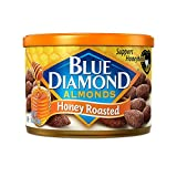 Blue Diamond Almonds, Honey Roasted, 6 Ounce (Pack of 12)