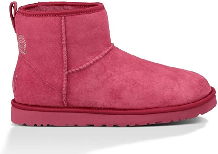 ugg classic crystal bow boots