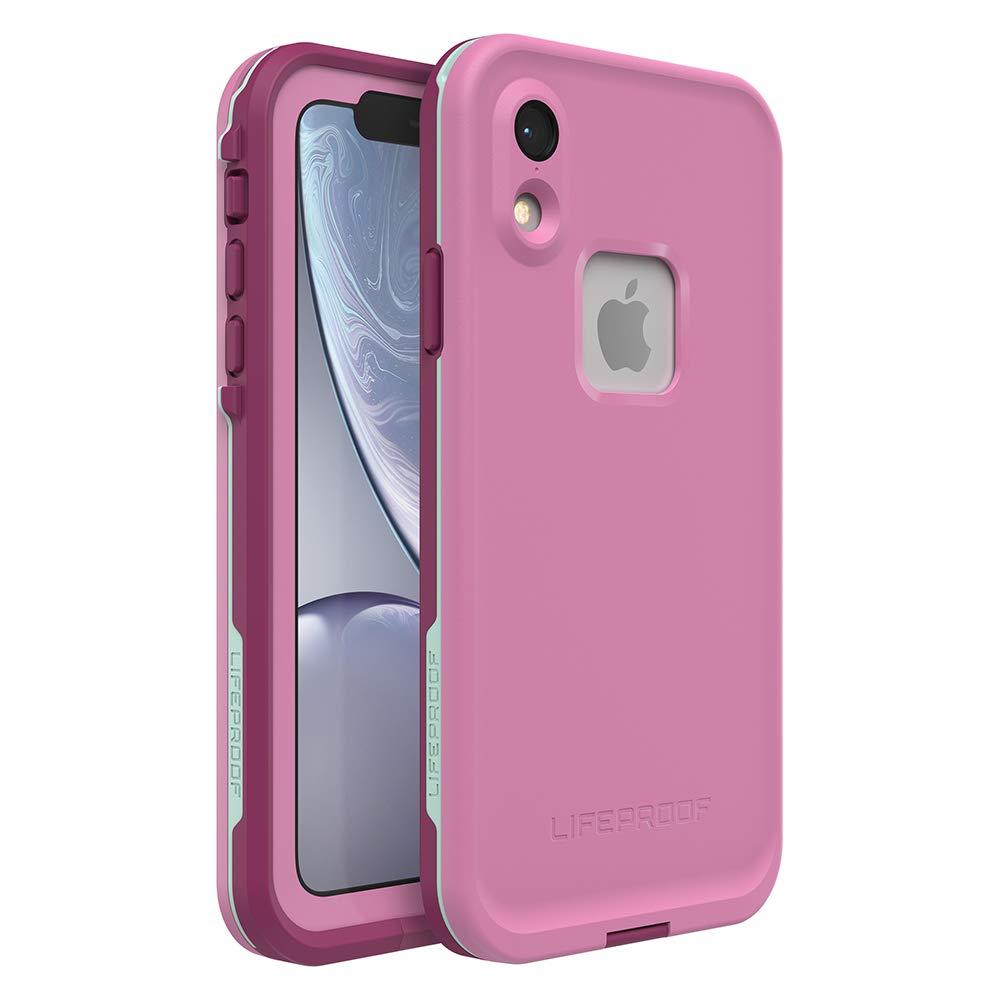 Lifeproof FRĒ SERIES Waterproof Case for iPhone XR - Retail Packaging - FROST BITE (ORCHID/PURPLE WINE/FAIR AQUA)