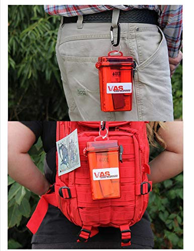 VAS Fire Box - - Emergency Fire Starting Kit in a Waterproof