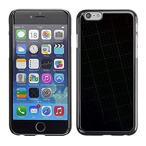 MOBMART Carcasa Funda Case Cover Armor Shell PARA Apple iPhone 6 / 6S - Dark Ceiling Pattern