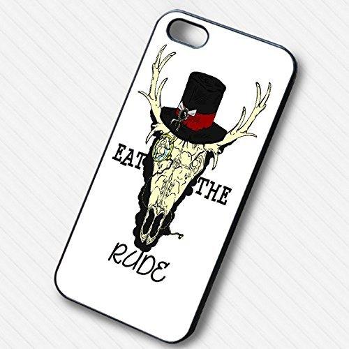 Eat the Rude Hannibal NBC pour Coque Iphone 6 et Coque Iphone 6s Case N7K8XY