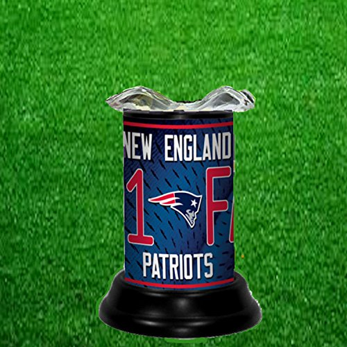 NEW ENGLAND PATRIOTS TART WARMER - FRAGRANCE LAMP - BY TAGZ (New England Patriots Lamp)