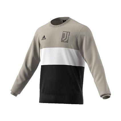 Amazon.com   adidas 2018-2019 Juventus Graphic Sweat Top (Sesame ... abdb4d6b0eaa