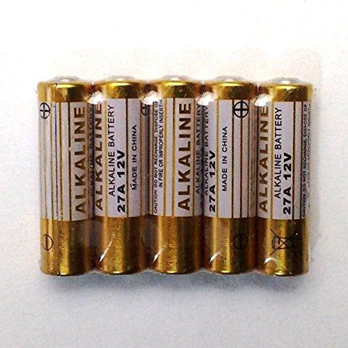 types de Comparaison 27/A//LR27/A//A27//V27GA//MN27/–12/V//–/Piles alcalines//&ndash Lot de 5/piles//Batterie de rechange pour /émetteur manuel de rechange universel QL1/Porte de Garage et assimil/és