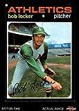 1971 Topps # 356 Bob Locker Oakland Athletics (Baseball Card) Dean's Cards 5 - EX Athletics
