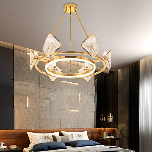 UBEN Pendant Lights Postmodern Crystal Chandelier Living Room Bedroom Dining Room Fashion Lamps