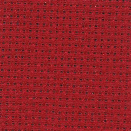 14 Count Red Aida Fabric 20x30 inches (50x75cm) - 321 - DC28/10 DMC DC28-321