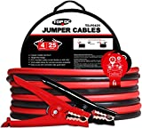 Best copper jumper cable - TOPDC Battery Jumper Cables 4 Gauge 25 Feet Review
