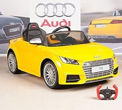Amazon Com Big Toys Direct Audi Tts 12v Kids Ride On Battery