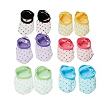 Kakaxi(TM) Baby Anti-slip Foot Socks for 8-36 Month Toddlers and Infants (6 pairs and colors)