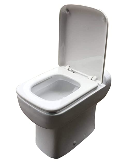 Heavy Duty One piece Toilet with Macerator Built Into the Base, White, AC110V 600 Watt Macerator - - Amazon.com