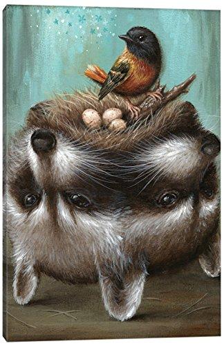iCanvasART Perilous Nest Canvas Print by Jason Limon 26 x 18