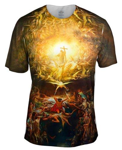 T-shirt Dore - Yizzam- Gustave Dore - Triumph Of Christianity (1899) -TShirt- Mens Shirt-X-Large