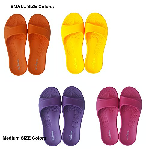 UPC 741619175092, ALL CLEAN E.V.A ECO Friendly Indoor Slides Sandals 4 Pairs Set (S, M (4 pairs))