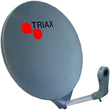 Triax DAP 611 fibra de vidrio antena parabólica - 60 cm ...