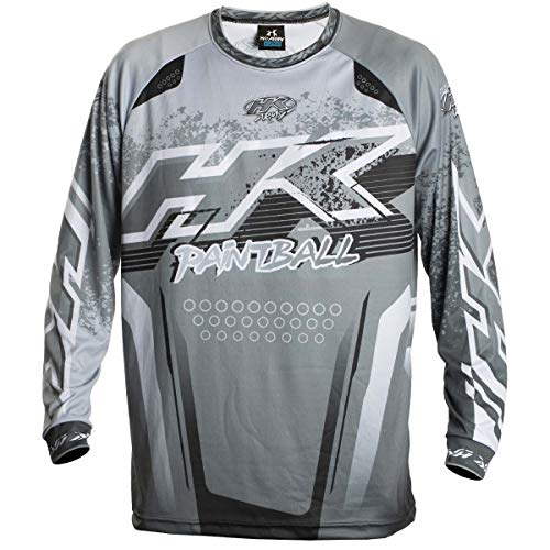HK Army Retro Paintball Jersey - Liquid - Slate Grey - Small