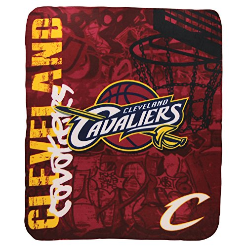 Nba Lightweight Fleece Blanket  50  X 60    Cleveland Cavaliers