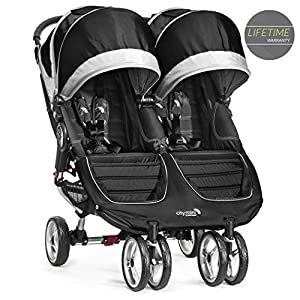 Baby Jogger City Mini Double Pushchair Black