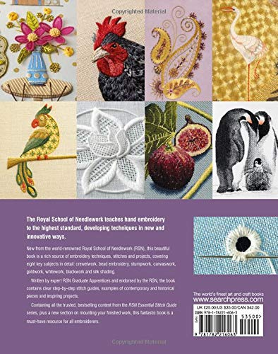 The Royal School of Needlework Book of Embroidery  A Guide To Essential  Stitches, Techniques And Projects  Various  9781782216063  Amazon.com  Books 3614afb4f7