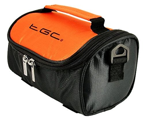 Hombro Negro al amp; TGC Orange Red Trims Mujer Hot Black Crimson with para Bolso Jet Black x1X1wW5qE6
