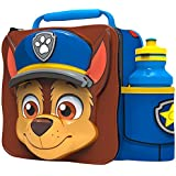 Paw Patrol Chase 3D Thermal Lunch Bag and 500ml Bottle Set