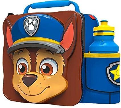 PAW PATROL Niños Infantil 3D Fiambrera Bag Deportivo Bidón