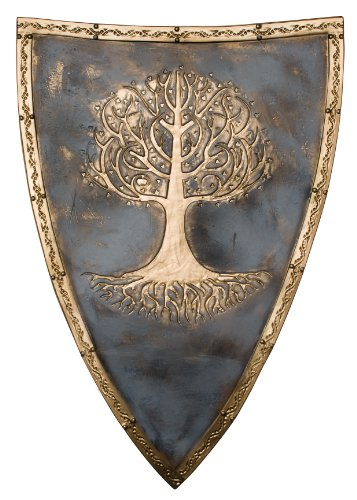 [Snow White and The Huntsman Shield, Metal, One Size] (Huntsman Costume)