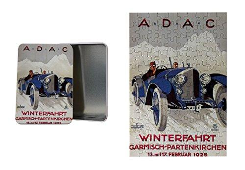 A.D.A.C Vintage Auto Poster Metal Tin Trinket Box (4
