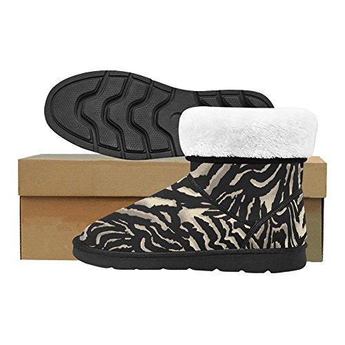 Interestprint Le Intérêt Zèbre Bottes De Neige Chaussures De Mode Pour Hommes