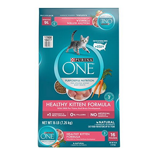 Purina ONE Natural Dry Kitten Food; Healthy Kitten - 16 lb. Bag