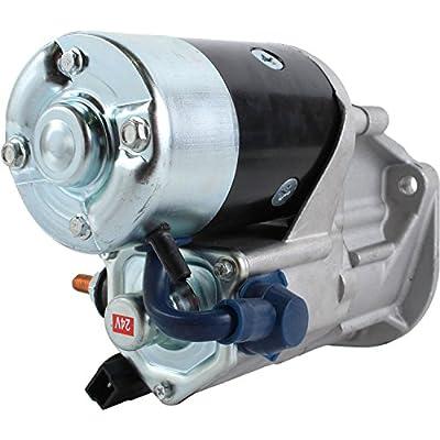 DB Electrical SND0702 Starter For Barber Greene Asphalt Pavers/ Caterpillar Pavers/ Backhoe Loaders 420D 420E/ Excavators M313 M315 M316 M318 M322/ Wheel Loader 914 928/ 0R4321, 1006929, 143-0541: Automotive