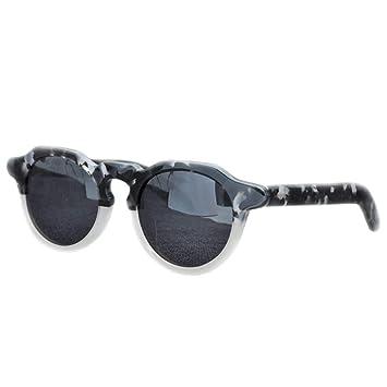 Jiecafy Gafas de Sol, Gafas de Sol faciales Unisex, Hechas a ...