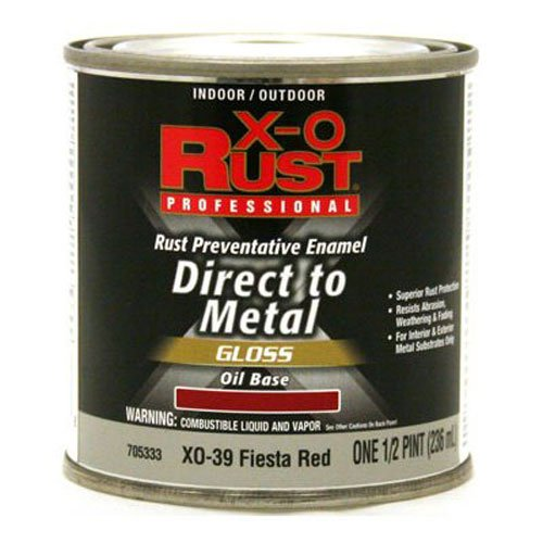 True Value XO39-HP XO Rust Protection  Rust Protection 1/2PT Red Oil Enamel