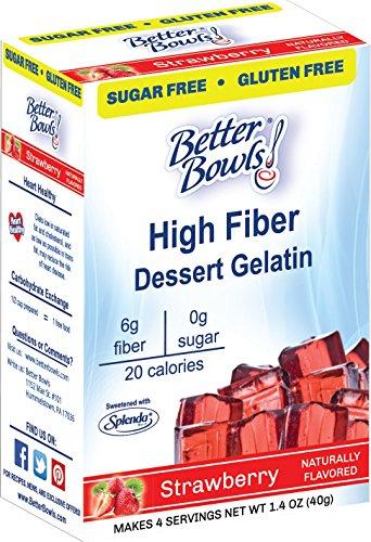 Better Bowls Sugar Strawberry Gelatin product image
