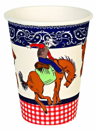 Meri Meri Party Cups, Howdy Cowboy
