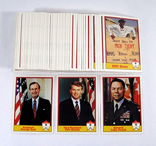 1991 Pacific Operation Desert Shield Trading Card Set (110)
