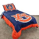 College Covers Auburn Tigers Reversible Comforter Set, Queen