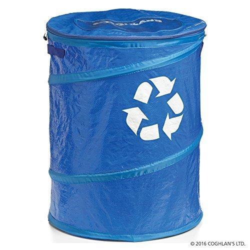 Pop-Up Recycle Bin made our list of Over 100 Ideas For This Holiday Season For Christmas Gifts For Campers And RV Owners!