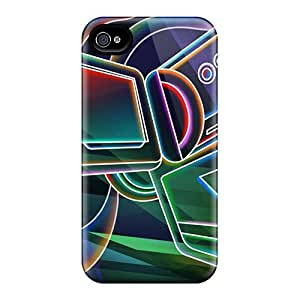 Iphone 4/4s Cases Covers Neon 3d Cases - Eco-friendly Packaging