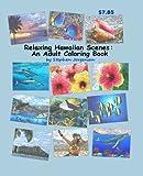 Relaxing Hawaiian Scenes:  An Adult Coloring Book