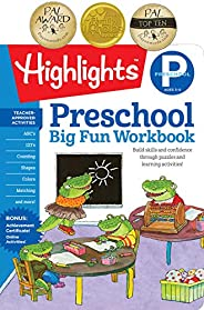 Preschool Big Fun Workbook (Highlights™ Big Fun Activity Workbooks)